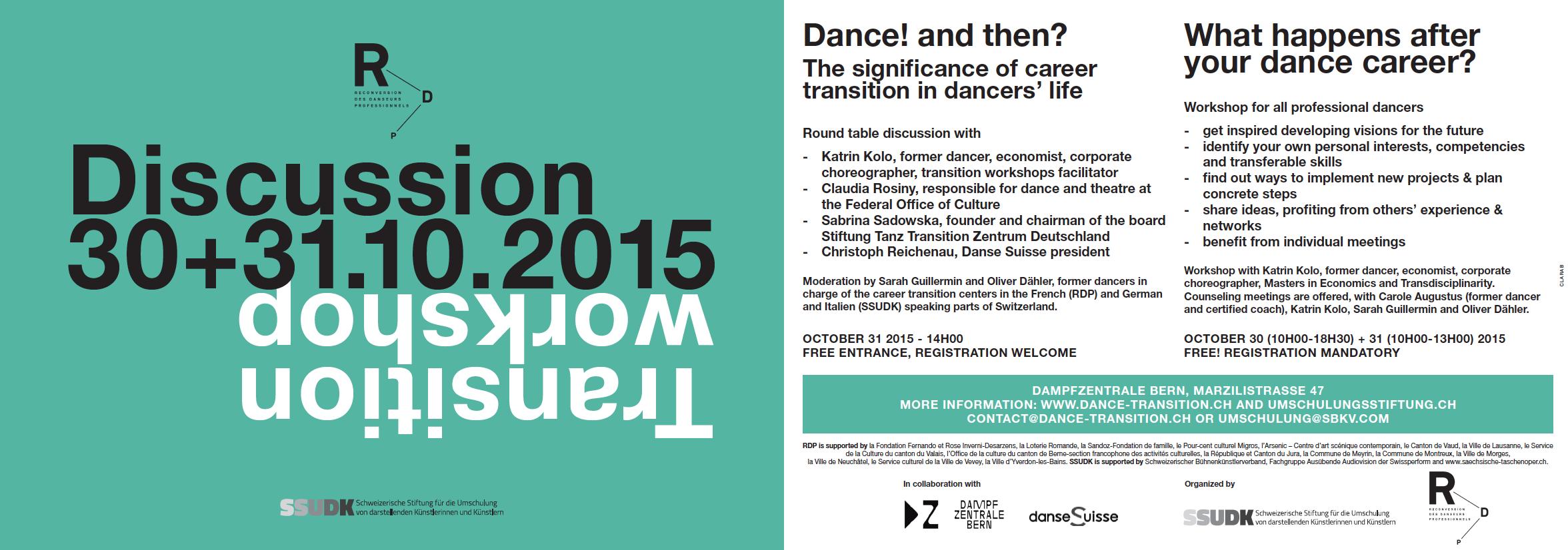 Transition-Workshop im Rahmen von TANZ IN BERN 2015